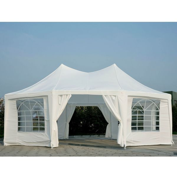 Outsunny 6.8x5M Large Octagonal Tent