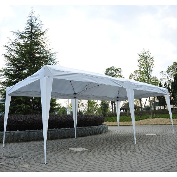 Outsunny 6 x 3m Heavy Duty Marquee Gazebo Tent - Blue or White