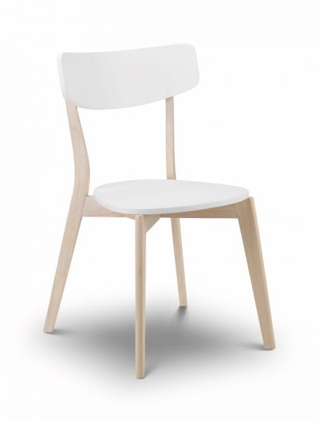 Julian Bowen Casa White Oak Dining Chair