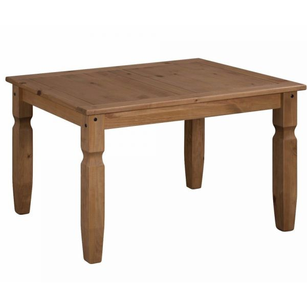 Corona Solid Pine Dining Table 5FT - Mexican Style