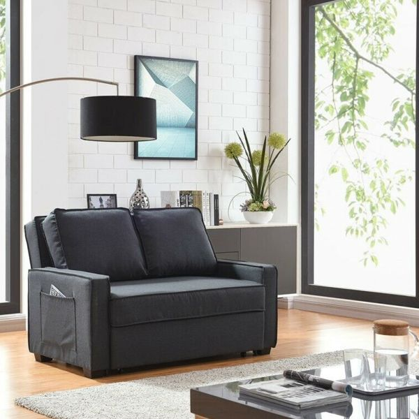 Modern Design 2 Seater Sofabed Multi-Functional