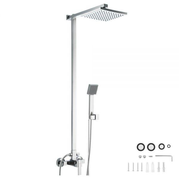 Complete Shower Panel Set Rain Shower