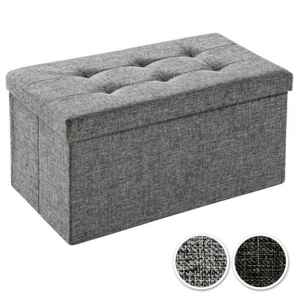 Folding Seat Storage Space Cube - 2 Colours