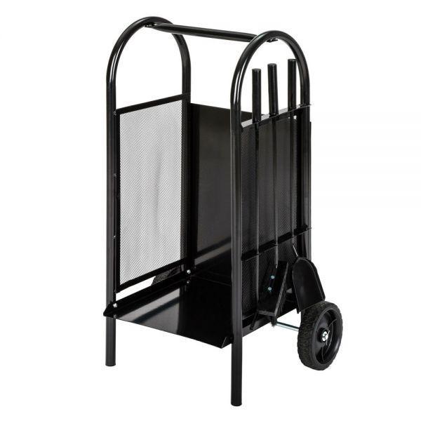 Firewood Cart Trolley Log Holder