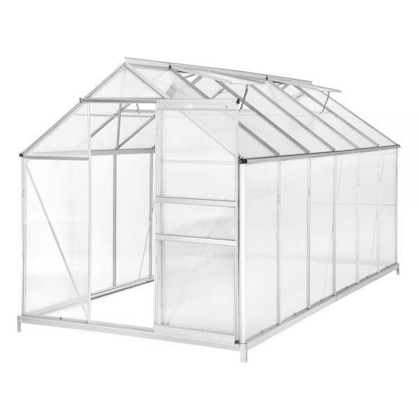 Greenhouse Aluminum Sliding Door And Foundation -11.13m³
