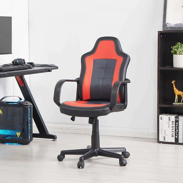 Adjustable Swivel Office Gaming Chair - 3 Colours