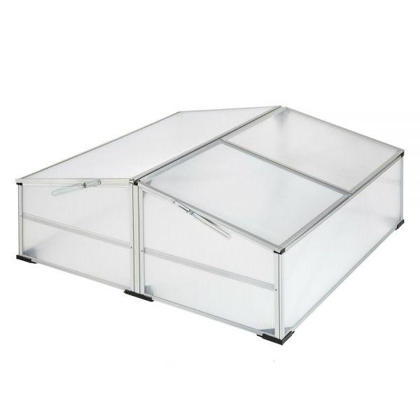Cold Frame Aluminium Growhouse Double 102 X 102cm