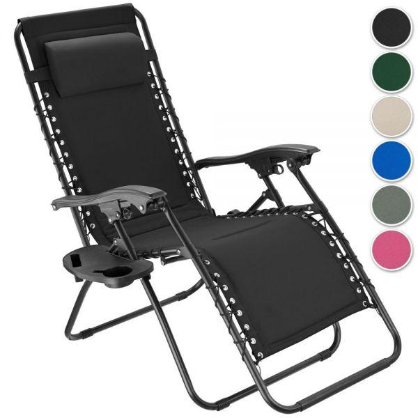 Stylish Folding Garden Chair Reclining - 6 Colours
