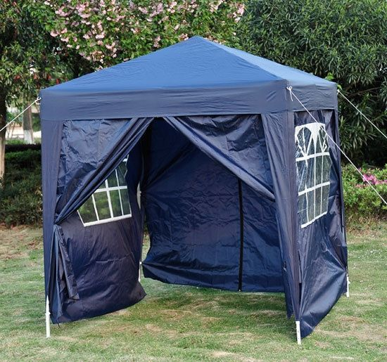 Outsunny 2m Pop-Up Marquee Gazebo Tent - 5 Colours