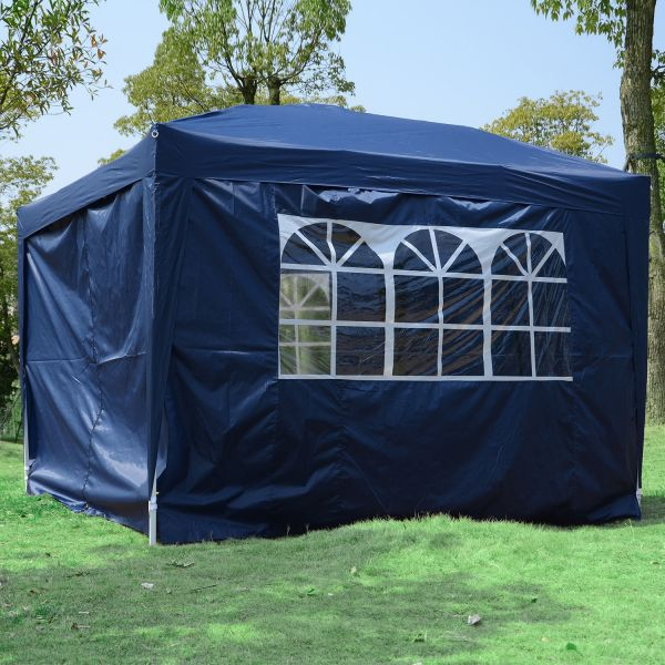 Outsunny 3m Pop-Up Marquee Gazebo Tent - 5 Colours