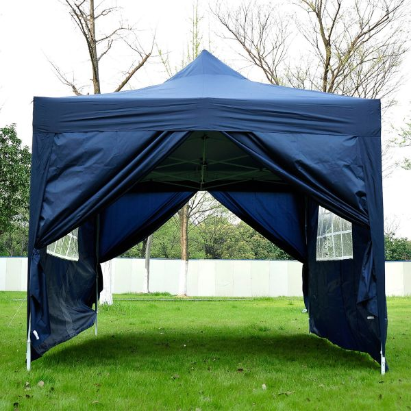 Outsunny 3 x 4.5m Pop-Up Marquee Gazebo Tent - 5 Colours