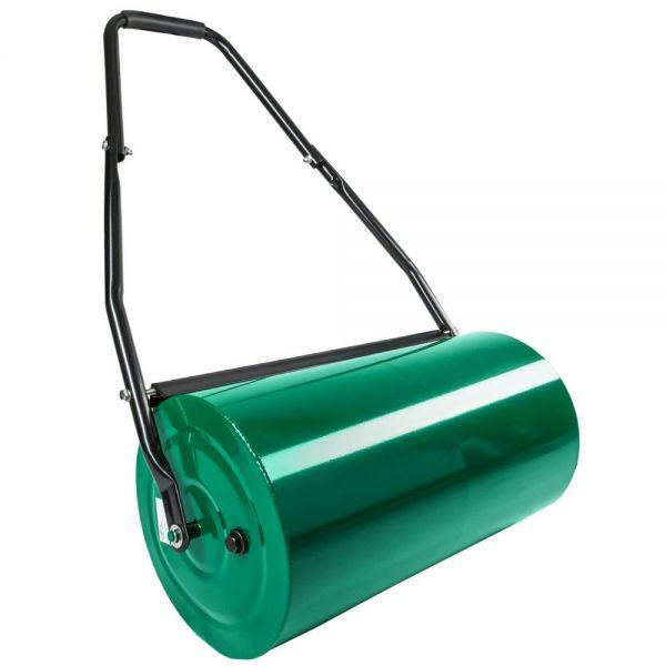 Metal Steel Lawn Roller 60cm Garden Grass - 50L