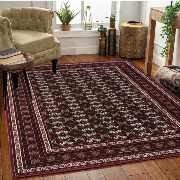 Traditional Oriental Vintage Rug Extra Large - Red