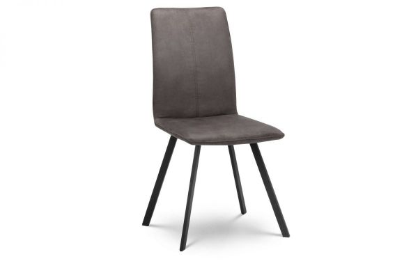Julian Bowen Monroe Grey Dining Chair