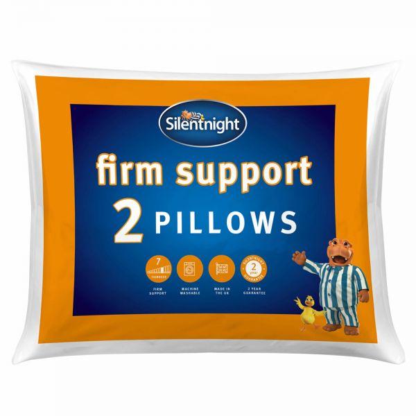 Silentnight Firm Support Pillow 2x Pack