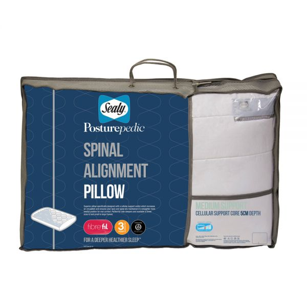 Sealy Orthopedic Spinal Support Pillow 5cm