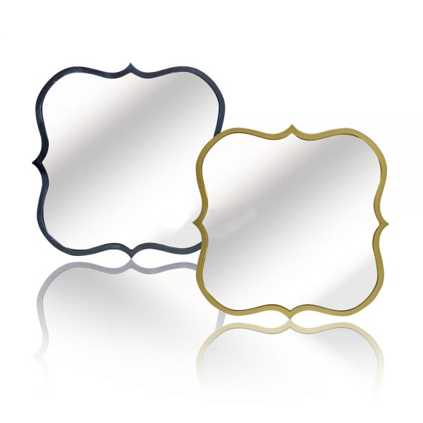 Decorative Wall Muntable Bedroom Curved Mirror - 2 Sizes