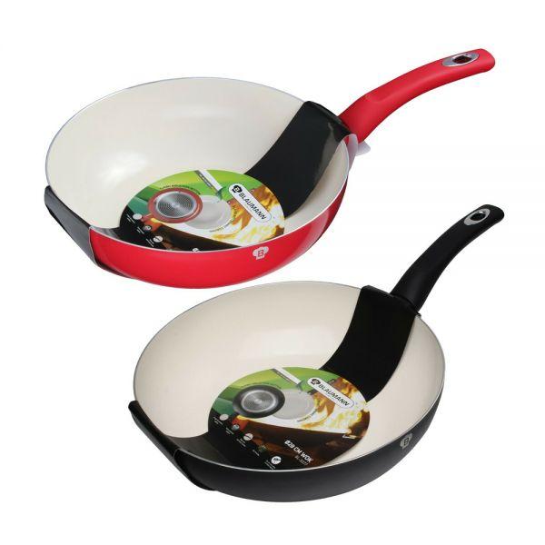 Ceramic Coating Aluminium Non Stick Frying Pan 28cm  - 2 Colours