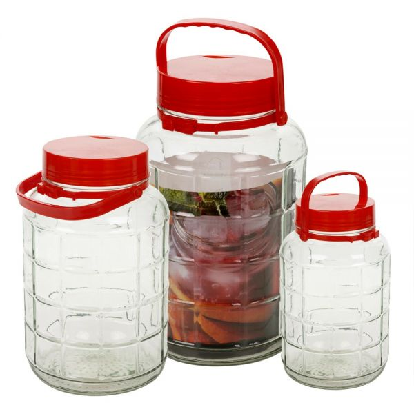Airtight Glass Food Container - 3 Sizes