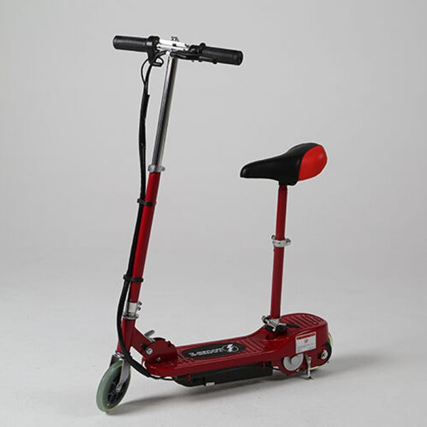 Kids Electric Powered Scooter - Red