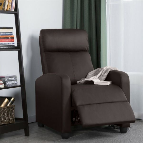 Modern PU Leather Recliner Chair - 3 Colours