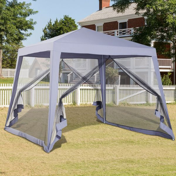 Gazebo Tent Event Shelter - Grey