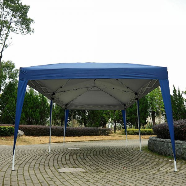Pop Up Gazebo 6x3M - Blue
