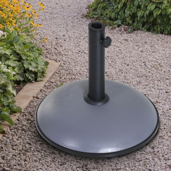 Durable Cement Round Parasol Stand 20kg
