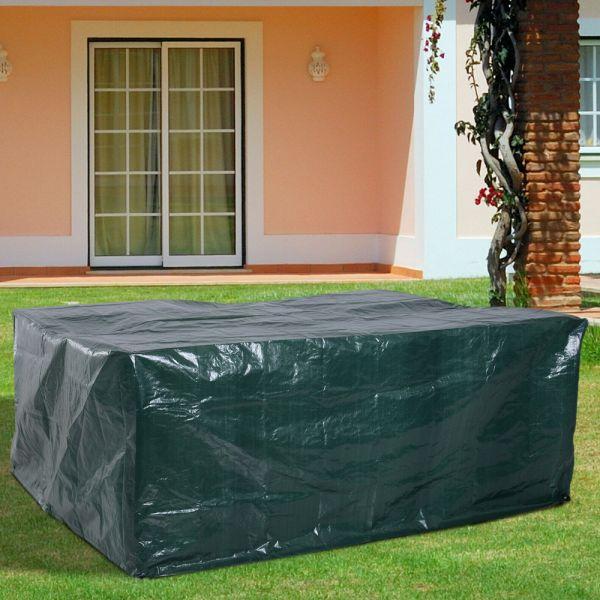 Waterproof Garden Furniture Large Cover - Green