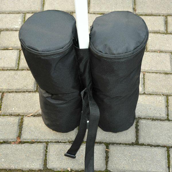Gazebo Weight Sand Bag 4pcs  - Black