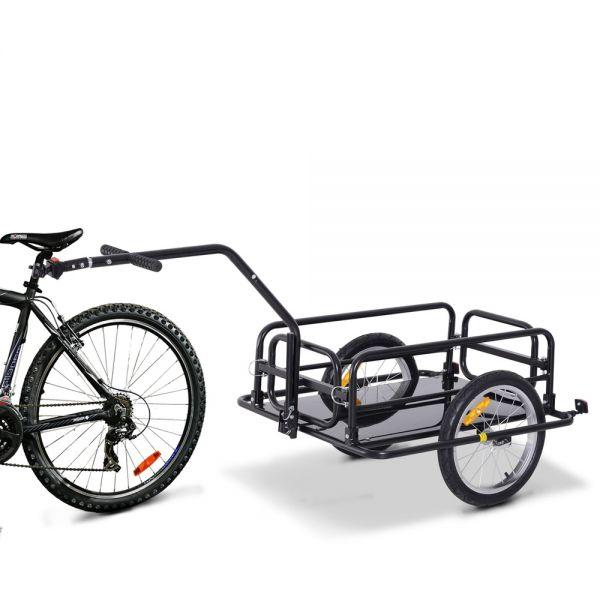 Folding Trailer Bicycle Storage Cart