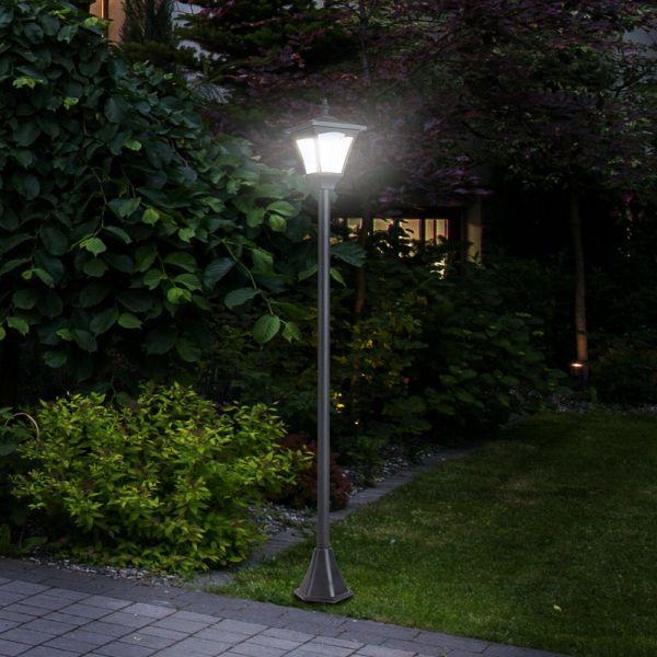 Freestanding Energy-Saving  Solar Light Lamp Posts with Base