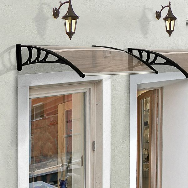 Window Canopy Fixed UV - Brown Colour
