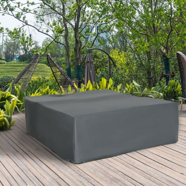 UV Resistant Garden Furniture Cover - Grey