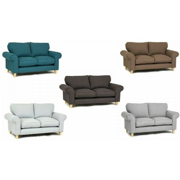 Angie Fabric 2+3 Seater Sofa or Armchair - 5 colours