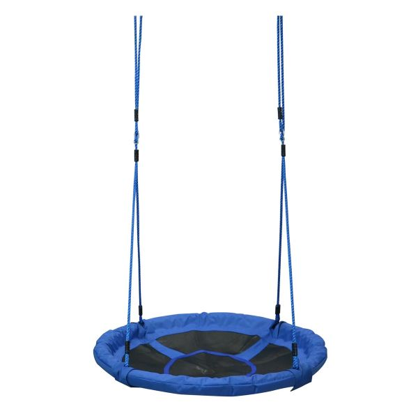 Homcom Kids Round Tree Spin - Blue