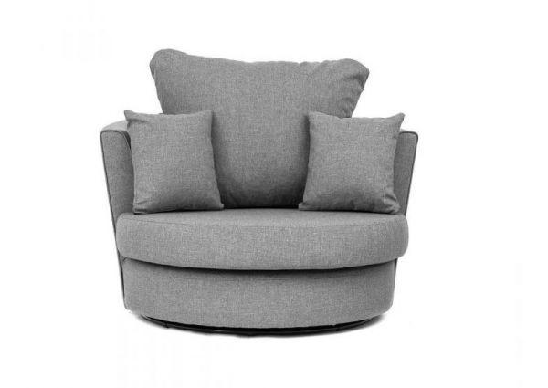 Dorota Fabric Swivel Chair