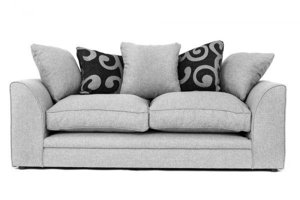 Dorota Fabric 3 Seater Sofa