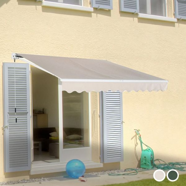 Outsunny Awning Canopy Shelter - 2 Colours