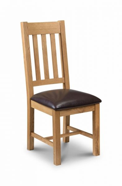 Julian Bowen Astoria Oak Dining Chair