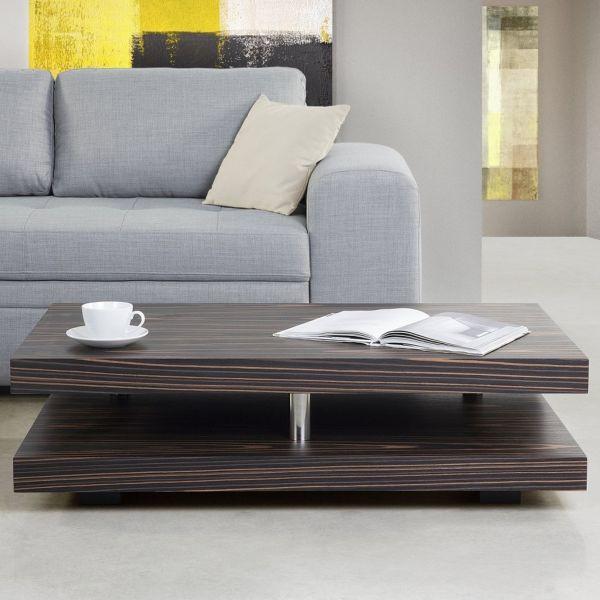 Laga Dark Wood Coffee Table