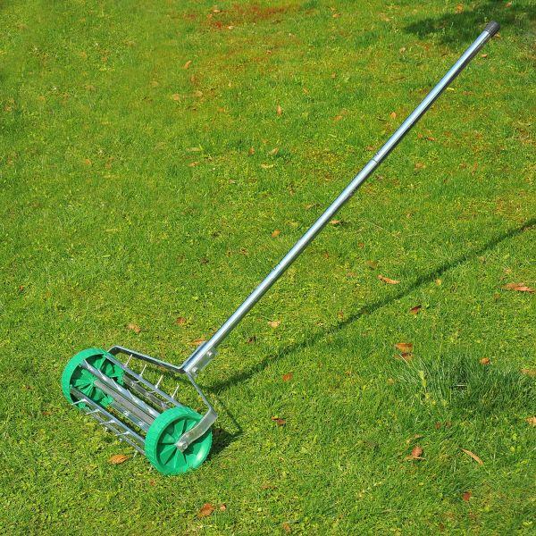 Outsunny Heavy Duty Steel Grass Roller