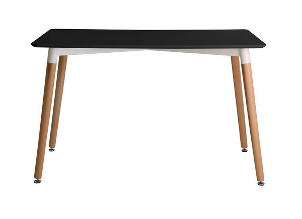 LPD Fraser Dining Table - White, Black or Grey