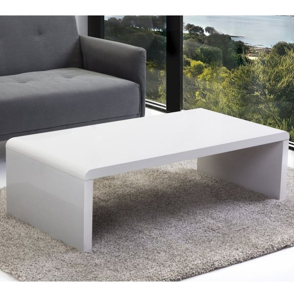 Mile White Coffee Table