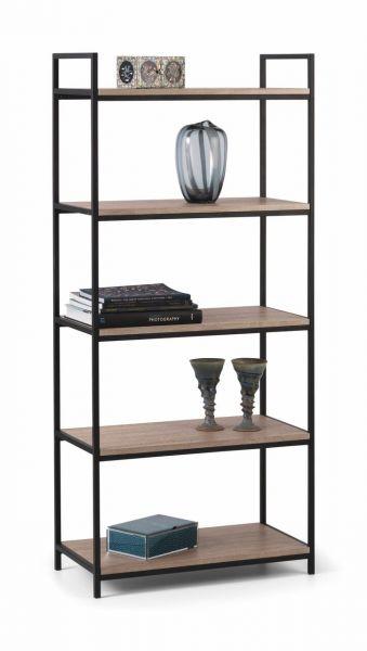 Julian Bowen Tribeca Industrial Tall Bookcase