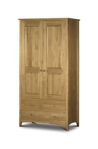 Julian Bowen Kendal 2-Door Combination Wardrobe