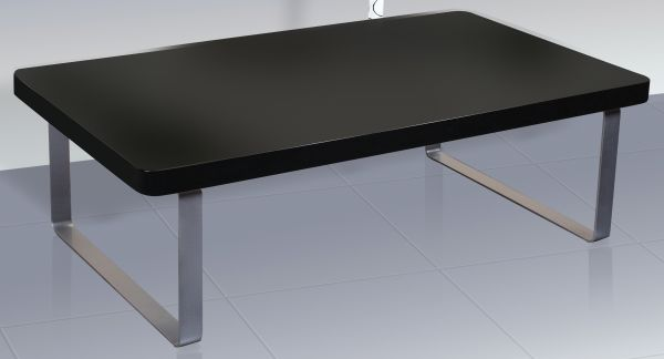 LPD Accent Gloss Coffee Table - Black or White
