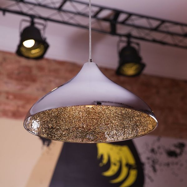 Iskar Metal Pendant Lamp - Copper, Black or Silver