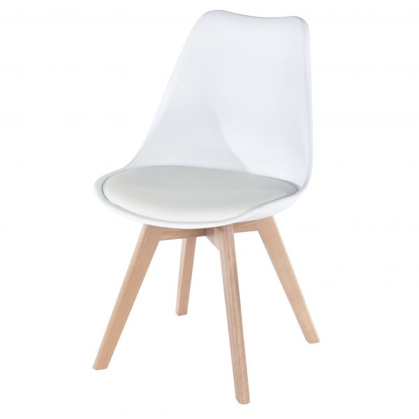 Aspen Upholstered Plastic Occasional Chair x 2 - 3 Colours