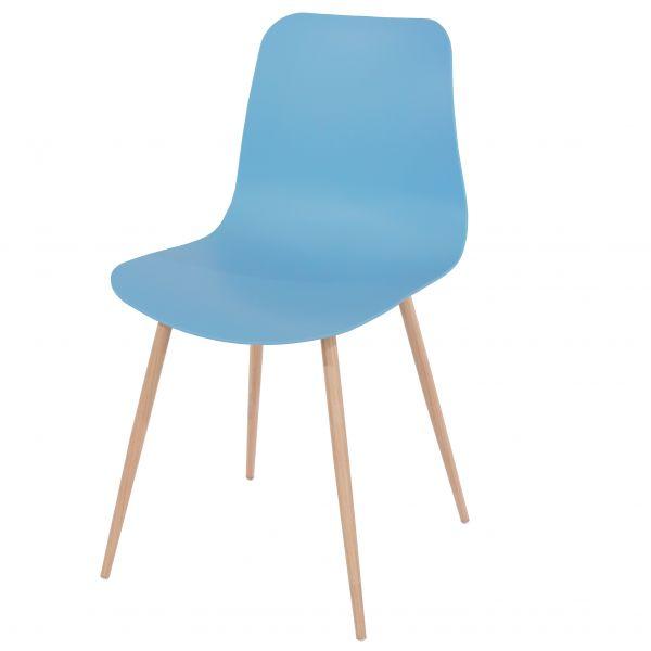 Aspen Plastic Metal Occasional Chair x 2 - 7 Colours